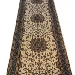 Высокоплотная ковровая дорожка Efes 0265 CREAM-GREEN  - высокое качество по лучшей цене в Украине