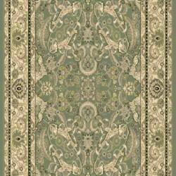 Высокоплотная ковровая дорожка Oriental 3416 , GREEN  - высокое качество по лучшей цене в Украине