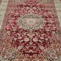 Высокоплотная ковровая дорожка Oriental 4672 , RED  - высокое качество по лучшей цене в Украине