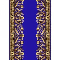 Кремлевская ковровая дорожка Silver / Gold Rada 028-45 blue  - высокое качество по лучшей цене в Украине