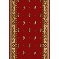 Кремлевская ковровая дорожка Silver / Gold Rada 049-22 red - высокое качество по лучшей цене в Украине.