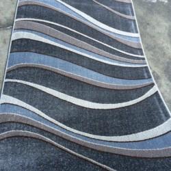 Синтетическая ковровая дорожка Daffi 13001 grey  - высокое качество по лучшей цене в Украине