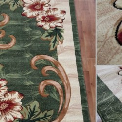 Синтетическая ковровая дорожка Virizka 131 green  - высокое качество по лучшей цене в Украине