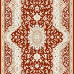 Высокоплотная ковровая дорожка Mashad 398 , RED  - высокое качество по лучшей цене в Украине