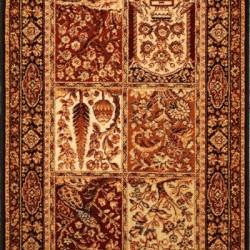 Шерстяная ковровая дорожка ISFAHAN Timor black  - высокое качество по лучшей цене в Украине