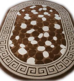 Акриловый ковер Antik  4037 brown-brown