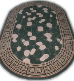 Акриловий килим Antik  4037 green-green