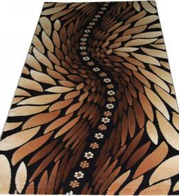 Акриловый ковер Azora 9850A d.brown-d.brown