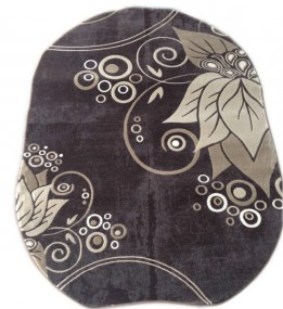 Акриловый ковер Florya 0189j kahve