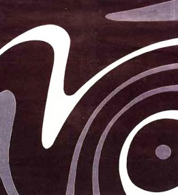 Акриловый ковер Florya 0030 kahve