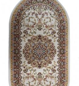 Акриловый ковер Kerman 0801B Cream-Green - высокое качество по лучшей цене в Украине.