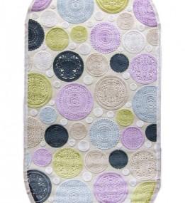 Акриловый ковер Lilium X019C Violet