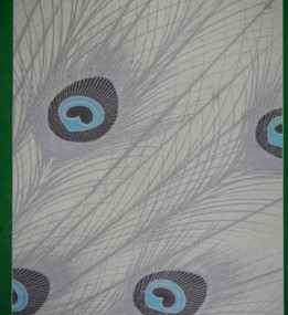Акриловый ковер Paris 0052 cream-turquise