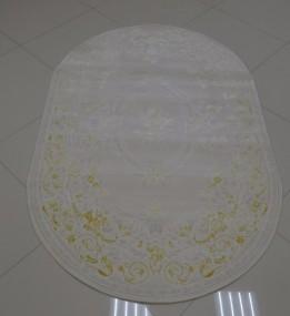 Акриловый ковер Premium 1658T yellow-cream