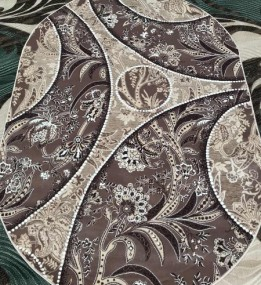 Акриловий килим YAZZ 6898 D.BEIGE-L.BEIGE
