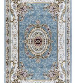 Акриловый ковер Zarina 2657A Blue-Cream