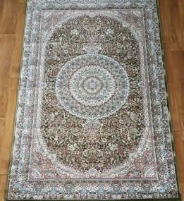 Високощільний килим Begonya 0925 green - высокое качество по лучшей цене в Украине.