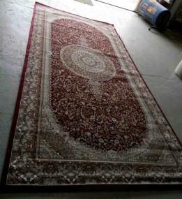 Високощільний килим Begonya 0925 bordo - высокое качество по лучшей цене в Украине.