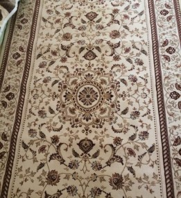 Высокоплотная ковровая дорожка Buhara  396 , CREAM