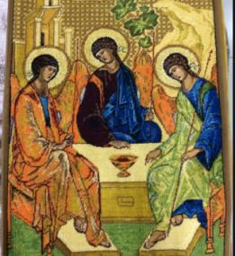 Ковер Икона 2016 Святая Троица