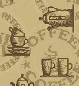 Синтетический ковер Kitchen 49062-667