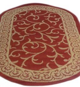 Безворсовый ковер Sisal 00014 red-cream