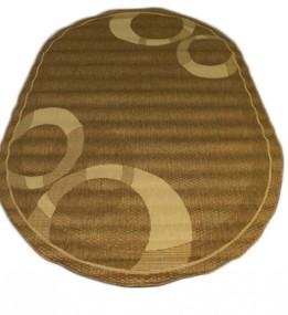 Безворсовый ковер Sisal 00026 gold-cream