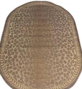 Безворсовый ковер Sisal 1010 gold-cream