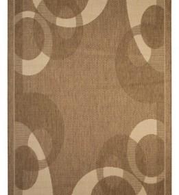 Безворсовый ковер Sisal 26 , BROWN