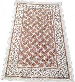 Безворсовый ковер Sisal 2163 , BROWN