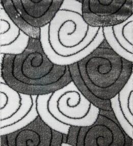 Высоковорсный ковер 3D Polyester B113 GREY-CREAM