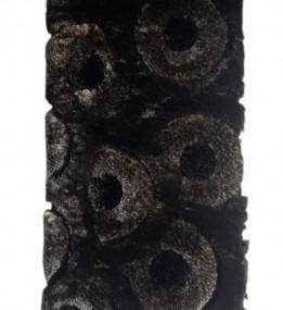 Высоковорсный ковер 3D Shaggy 3680 , BROWN