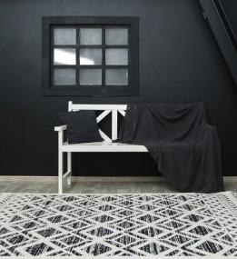 Высоковорсный ковер Bilbao Y584A ANTRASIT/WHITE