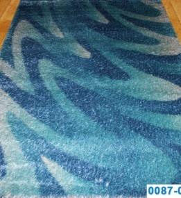 Высоковорсный ковер Butik 0087-05 mav-blu