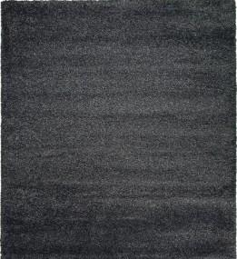 Високоворсний килим Denso Black