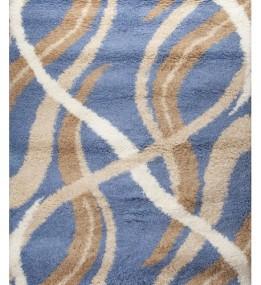 Высоковорсный ковер First Shaggy 4735 , BLUE