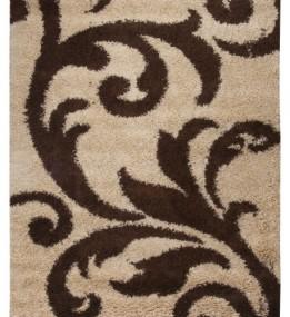 Високоворсний килим First Shaggy 8432 , BEIGE