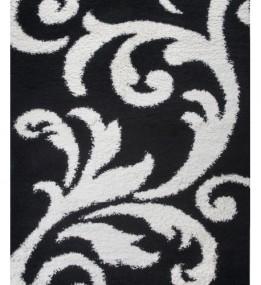 Высоковорсный ковер First Shaggy 8432 , BLACK