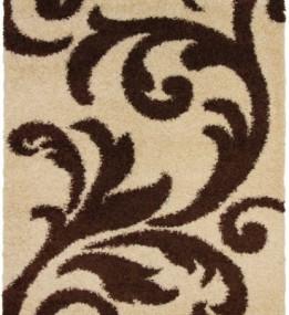 Високоворсний килим First Shaggy 8432 , GOLDEN