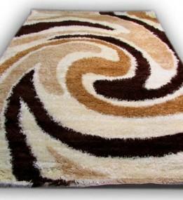 Високоворсний килим Gold Shaggy 3619 kahve-kemik