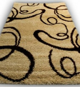 Високоворсний килим Gold Shaggy 8956 garlic