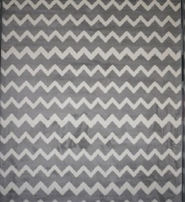 Синтетический ковер Jazzy 07661A Light Grey
