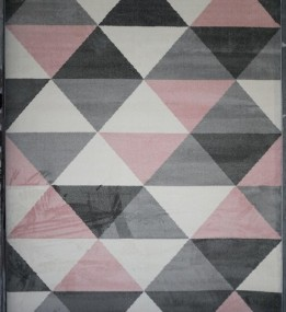 Синтетический ковер Jazzy 07724A White