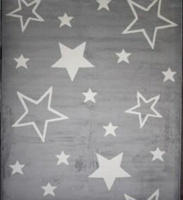 Синтетический ковер Jazzy 07725A Light Grey