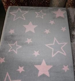 Синтетический ковер Jazzy 07725B Light Grey
