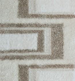 Високоворсний килим Lalee Sepia 105 white