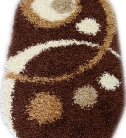Высоковорсный ковер Loca (Super Lux Shaggy) 9197A brown