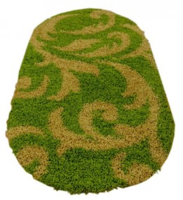Високоворсний килим Loca (Super Lux Shaggy) 9161A GREEN