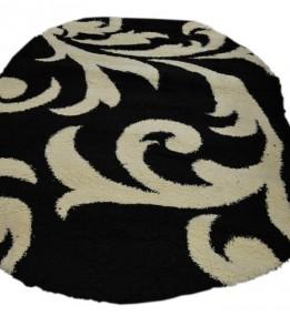 Высоковорсный ковер Loca (Super Lux Shaggy) 9161A BLACK