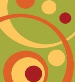 Высоковорсный ковер  Loca (Super Lux Shaggy) 9197A green